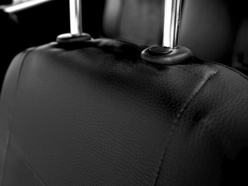 Fiat Stilo  5 Sitze Kunstleder Schwarz Sitzbezüge Schonbezüge Sitzbezug