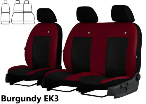 PEUGEOT PARTNER VAN 2014 2015 2016 2017 2018 ECO LEATHER TAILORED SEAT COVERS