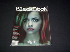 2001 WINTER BLACKBOOK MAGAZINE - CHRISTINA RICCI - NIGHT - HIGH FASHION - F 2440