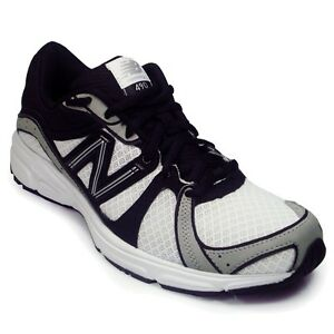 New-Balance-M490-Mens-Athletic-Running-Shoes-Size-7-White-Black-Trainer-Sneakers