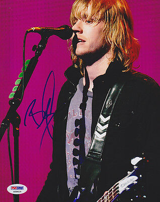 Rock & Pop Bryce Soderberg Signed 8x10 Photo Bassist Lifehouse Psa/dna Autographed Strong Resistance To Heat And Hard Wearing