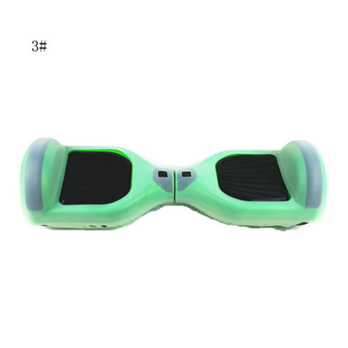 """Soft Silicone Protector Case Cover For 6.5/"""" Smart Balance Scooter Hoverboard Hot"""