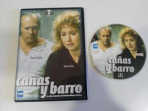 CANAS-Y-BARRO-DVD-VOL-2-SLIM-VICTORIA-VERA-MANUEL-TEJADA-VICENTE-BLASCO-IBANEZ