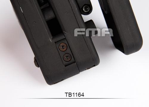 FMA Tactical Airsoft Outdoor Sports IPSC RACE MASTER fondina cintura fondina TB1164