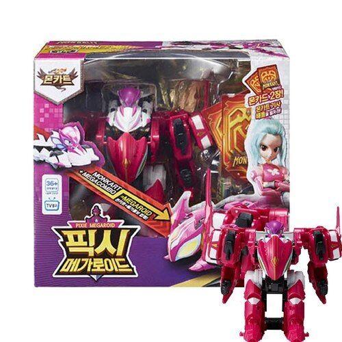 Youngtoys MONKART Pixie Megaroid Transformer Robot Toy