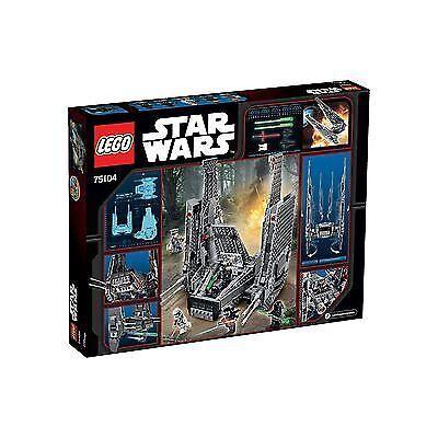Lego stjärnornas krig 75104 KYLOR REN S KOMmänTARER Splitter Nya och förseglade