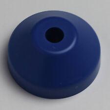 "45 Dome Record Adapter Plastic Insert for 7"" Vinyl 45 rpm Blue Funk Soul Reggae"