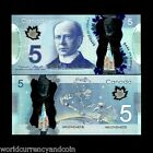 CANADA 5 DOLLARS NEW 2013 SPACE RM2 ET POLYMER DEXTRE SATELLITE UNC MONEY NOTE