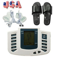 Beauty Tens Acupuncture Therapy Stimulator Muscle Relax Foot 8 Levels Battery Us