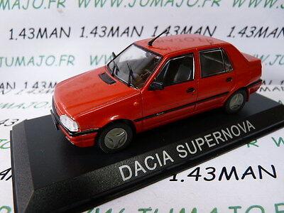 BAL43 Voiture 1/43 IXO DEAGOSTINI Balkans : DACIA SUPERNOVA