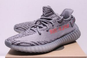 76e15c5d4e035 Adidas Yeezy Boost 350 V2 Beluga 2.0 Gray Orange Sneakers Men s Size ...