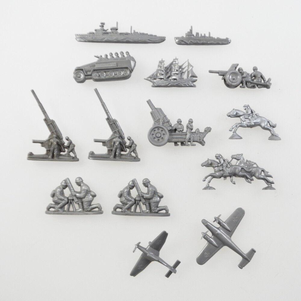 Winterhilfswerk finds Figures-Soldiers Army Krieg Wehrmacht Mortar Flak ships