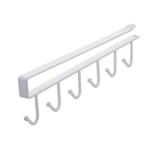 Hanging Utensil Holder Hook Rack Cup Holder Cabinet Bracket For Kitchen Bathroom