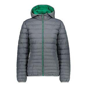 CMP Outdoorjacke Jacke WOMAN JACKET grau winddicht wasserabweisend