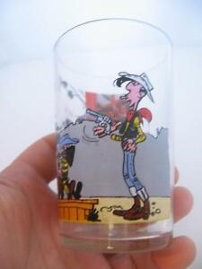 Site Officiel Verre A Moutarde Lucky Luke Dargaud Editeur Paris 1972