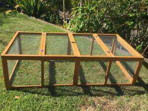 Chicken-coop-LARGE-Run-Guinea-Pig-Cage-Villa-Extension-Rabbit-hutch-house-pen