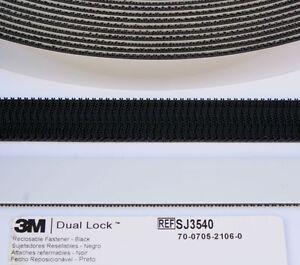 Black 3m Dual Lock Self Adhesive Tape Pads Squares Type