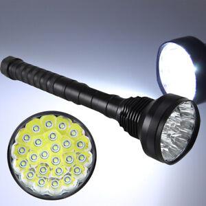 5-Mode-45000LM-24x-XML-T6-LED-Flashlight-Torch-Camping-Hiking-Lamp-Light-Lantern