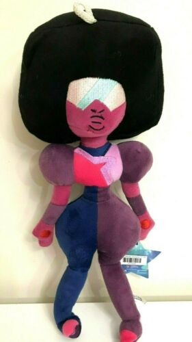 New Large Steven Universe Plush Garnet 16 inch Soft Purple Doll Licensed.