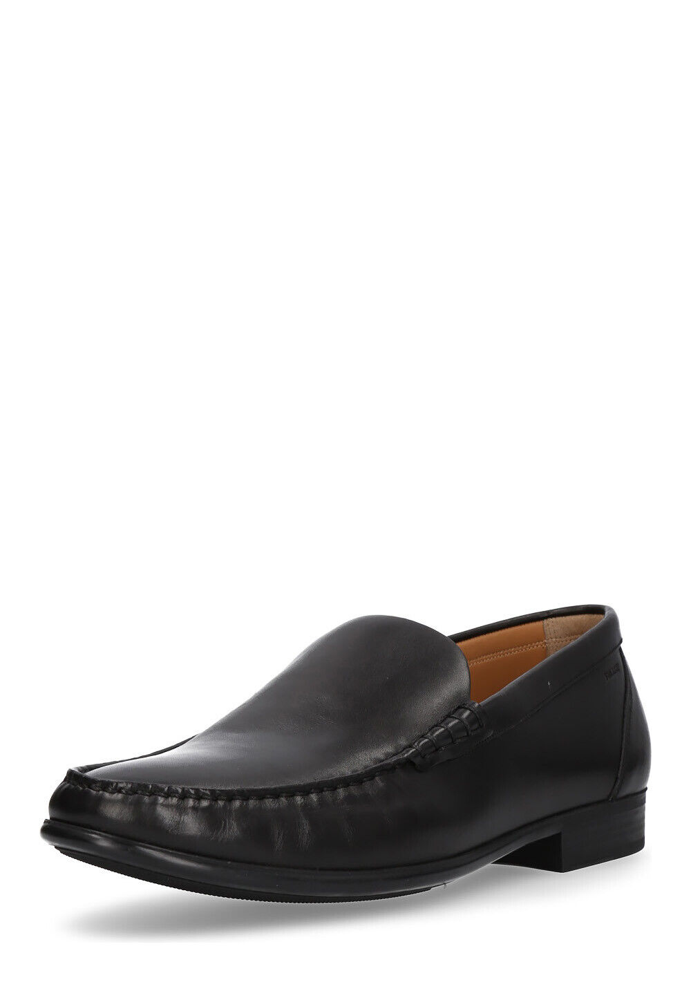 BALLY Herren Slipper Schuhe Mokassins Leder Halb Loafer bequem Größe 38 47.5