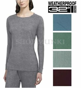 Weatherproof-32-Degrees-Heat-Women-039-s-Crew-Neck-Fleece-Sweatshirt