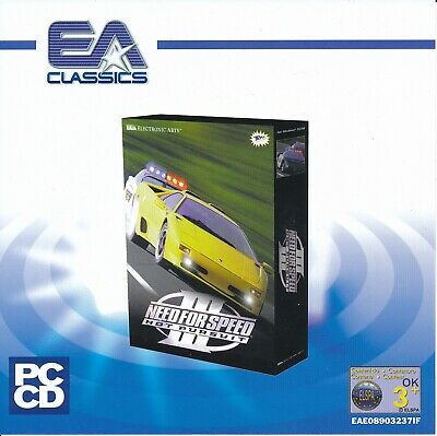 Need For Speed Iii 3 Hot Pursuit Pc Cd Rom Racing Game Jewel