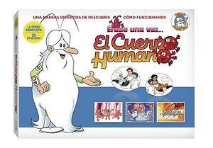 Erase-Una-Vez-el-Cuerpo-Humano-DVD-En-Espanol-Castellano-676-Minutos-Duracion