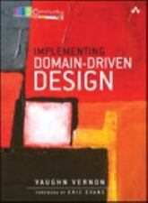 Implementing Domain-Driven Design by Vaughn Vernon Hardcover Book (English)