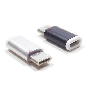 ADATTATORE-MICRO-USB-A-TYPE-C-3-1-CONVERTITORE-TRASFERIMENTO-DATI-RICARICA-S8