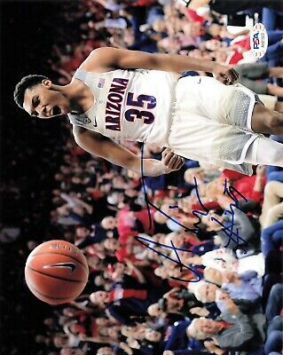 Allonzo Trier Arizona Wildcats Basketball Jersey - Dark Blue