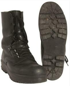 a4bfd8b5017 Details about Original Swiss army surplus combat assault leather boots