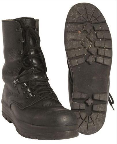Original Swiss army surplus combat assault leather boots