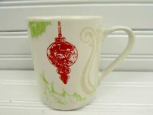 Napa-Mug-Red-Green-Tan-Ornament-Design-On-White-b204