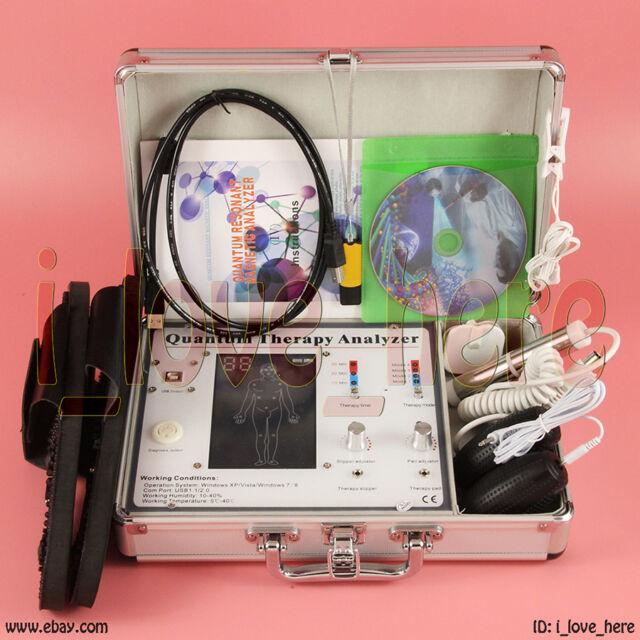 3d NLS Diagnostics Sub Health Analyzer Quantum Bioresonance 8 Languages