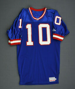 Details About 1992 Kent Graham New York Giants Game Used Worn Jersey Ohio State Buckeyes