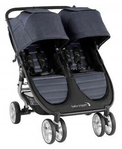 Baby-Jogger-City-Mini-2-Twin-Baby-Double-Stroller-Carbon-NEW-2020