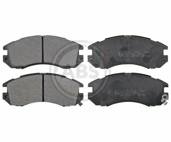 Set of Brake Pads Parking Brake Discs a. B. S.36720