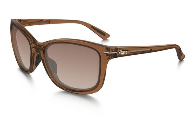 f45c972a701 oo9232-13 Oakley Sunglasses Drop In Women Topaz VR50 Brown Gradient