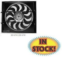 Cooling Components 20-1/2 H X 20-1/2 W 2-speed Electric Fan + Shroud Cci-1770