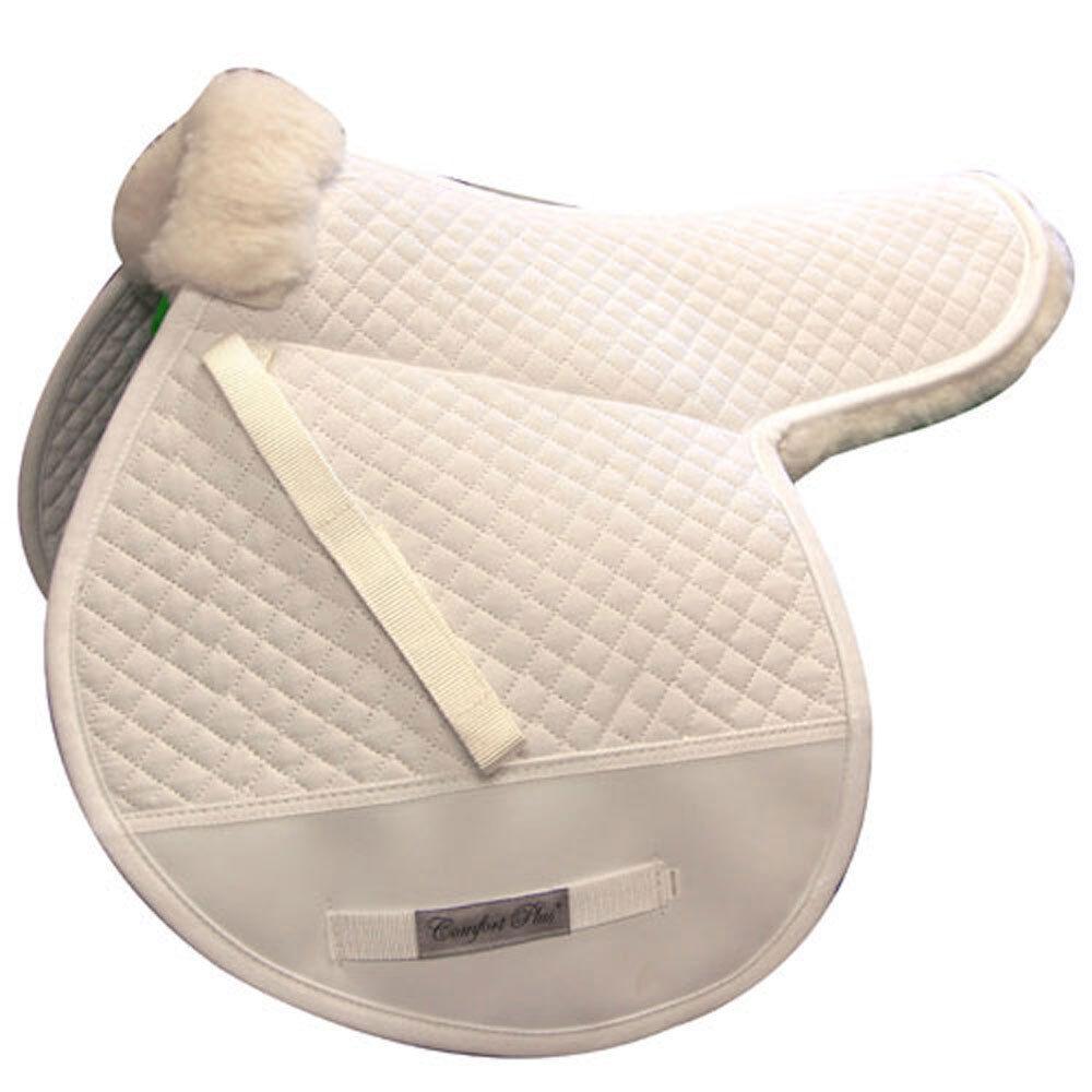 Intrepid international nuevo Shearling Doble Con Respaldo Diamante Acolchado Cojín de Silla de montar