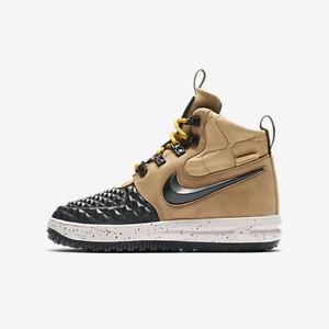 Details about New Nike Youth Lunar Force 1 Duckboot '17 (922807 700) Metallic GoldLight Bone