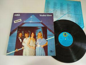 """Abba Voulez-Vous Spanisch Edition 1979 Carnaby Txs 3146 - 12 """" vinyl LP VG/VG 2T"""