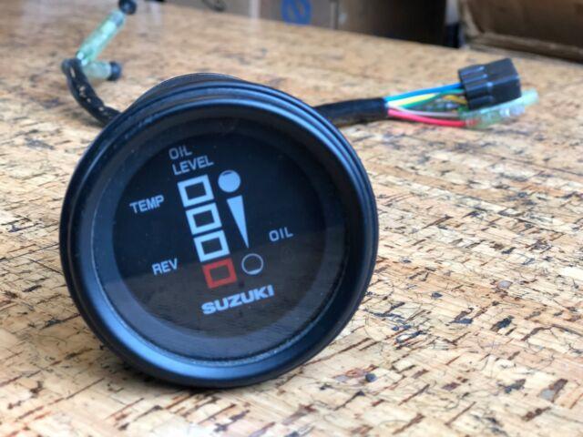 Suzuki OUTBOARD 34700 92e11 Multi Function Gauge Oil Temp Rev Monitor 2  Stroke