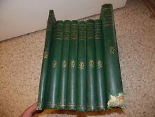 1873-1903.Ensemble de 9 volumes ophtalmologie oeil.Panas