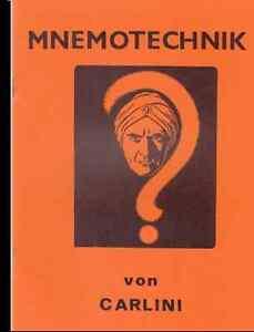 Mnemotechnik - Wunder des Geistes/Das Riesengedächtn<wbr/>is - leicht gemacht - 81151