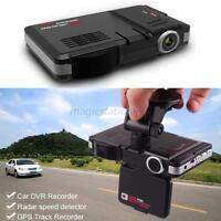 LED Display Radar Laser Car Video Camera Recorder G-Sensor Speed Detector Tools