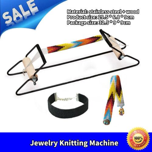 Bead Weaving Beading Machine DIY Craft Headband Key Chain Weaving Beading Tool
