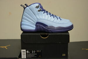 meet 83c38 ebce6 Image is loading Air-Jordan-12-Retro-GG-GS-Purple-Dust-