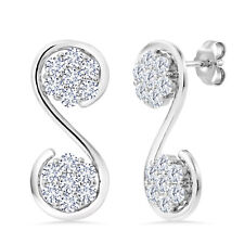 Keren Hanan Inspired by Music 925 Sterling Silver Musical Ornament Earrings