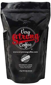 Muy-Fuerte-granos-de-cafe-250g-Tierra-100-robusta-Cafe-UKstrongestcoffee